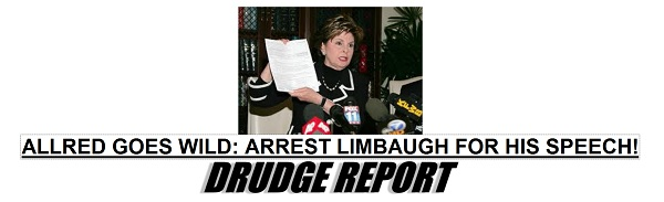 Allred Goes Wild Gloria Allred Loses Her Mind   Wants Rush Limbaugh Prosecuted