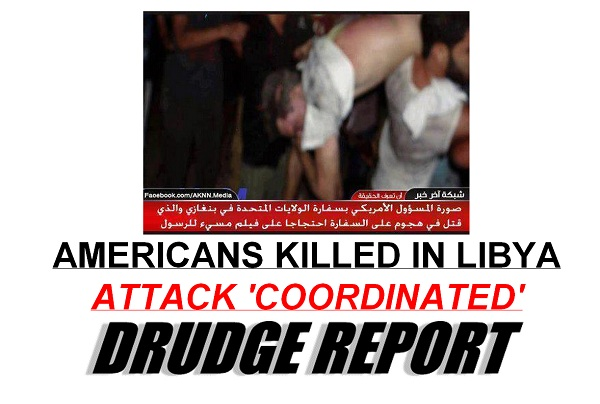 American Ambassador killed in Libya The Afternoon Flap: September 12, 2012