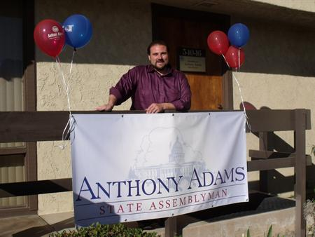 Anthony Adams CD 8: Former California Republican Assemblyman Anthony Adams to Run for Open Congressional Seat