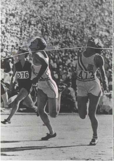 Babe Didrikson Breaks World Record Can Female Athletes Compete in the Olympics Against Men?