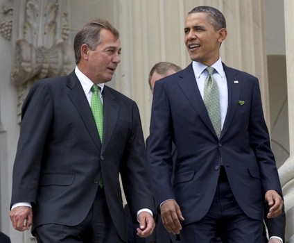 Boehner and Obama1 The Morning Flap: December 11, 2012