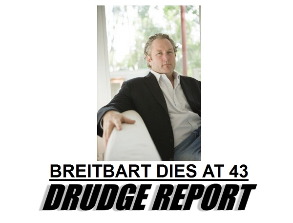 Breitbart The Morning Flap: March 1, 2012