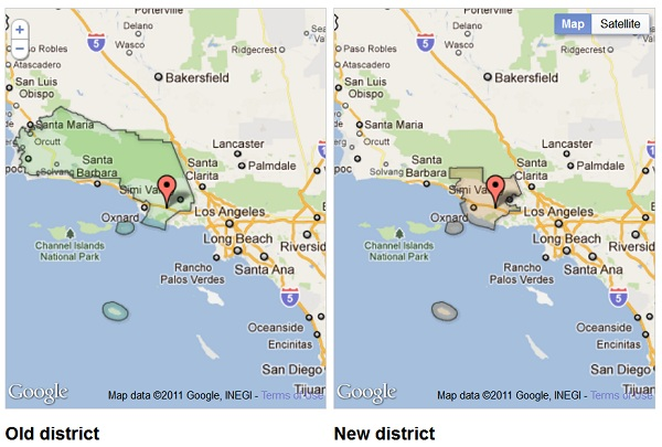 CA New Congressional District CA 26: Republican Referendum on Congressional Maps Over?