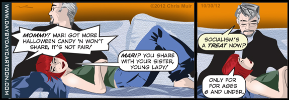 Day By Day cartoon for October 30, 2012