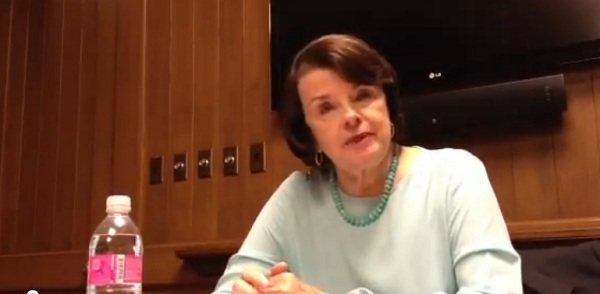 Dianne Feinstein1 CA Sen: Senator Dianne Feinstein Doesnt See The Point in Debating Republican Elizabeth Emken