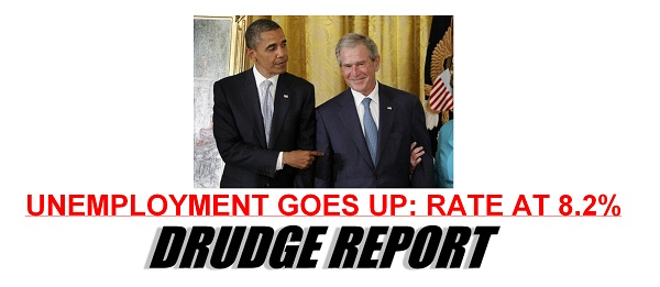 Drudge Unemployment rate for May The Morning Flap: June 1, 2012