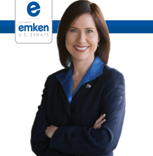 Elizabeth Emken for US Senate CA Sen: California Republican Party Endorses Elizabeth Emken for U.S. Senate Race