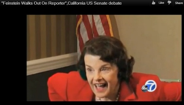 California U.S. Senator Dianne Feinstein