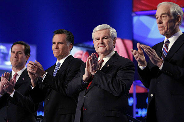 GOP Presidential contenders The Morning Flap: February 15, 2012
