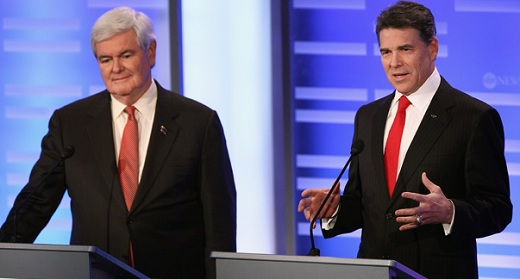 Gingrich and Perry The Morning Flap: March 12, 2012