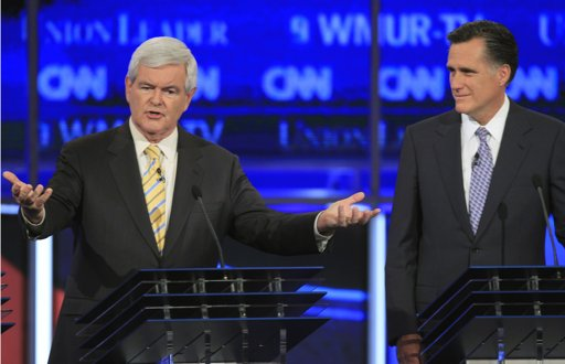 Gingrich and Romney President 2012: The Question   Mitt or Newt?