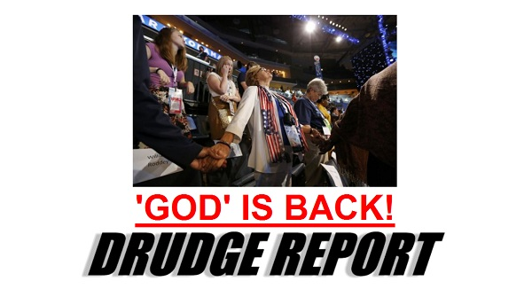 God is back Democrats Put God And Jerusalem Language Back Into The Party Platform