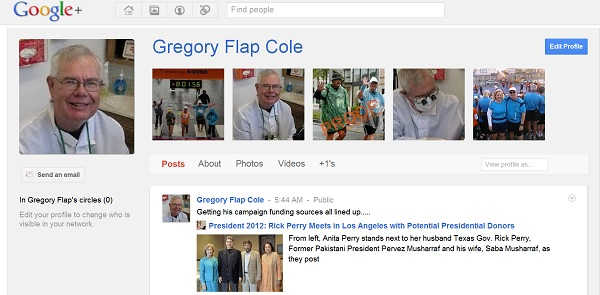 Google Plus1 Follow Me on Google Plus   July 21, 2011 Edition