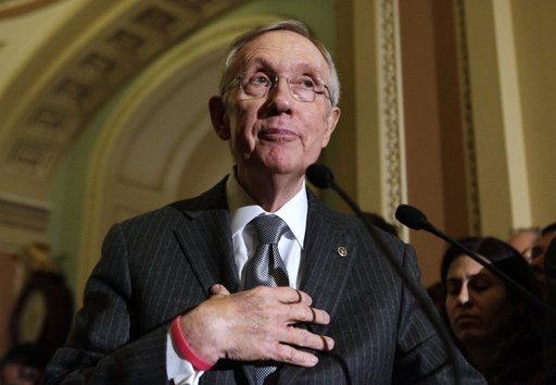 Harry Reid Harry Reid Threatens GOP with Nuclear Option On Senate Filibuster Rules