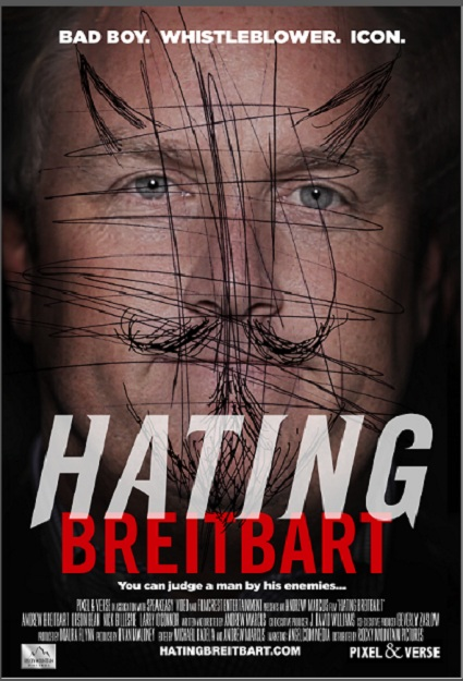 Hating Bretbart Movie Poster Hating Breitbart   The Documentary in Select Theaters Soon