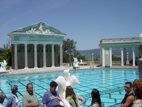 Hearst Castle Outdoor Pool 600 Shouldnt Jack OConnell Pay the State for His Hearst Castle Birthday Party?