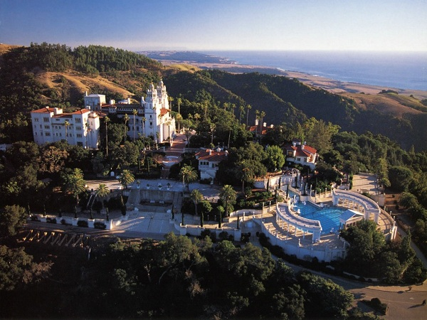 Hearst Castle Flaps California Morning Collection: June 28, 2011