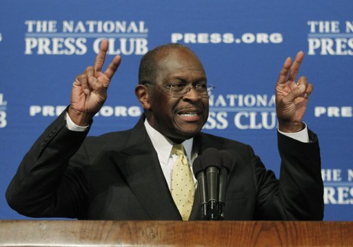 Herman Cain at National Press Club President 2012: Herman Cain