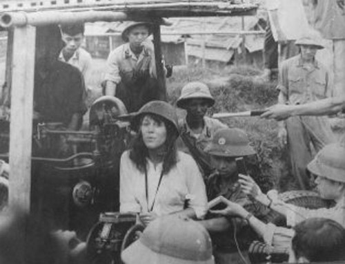 Jane Fonda in NV 1 Traitor Jane Fonda Wants Rush Limbaugh Kicked Off the Radio   Really?