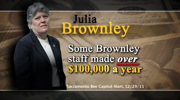 Julia Brownley Staff Pay Raises CA 26: Julia Brownley Ups Staff Pay While California Budget Deficit Soars