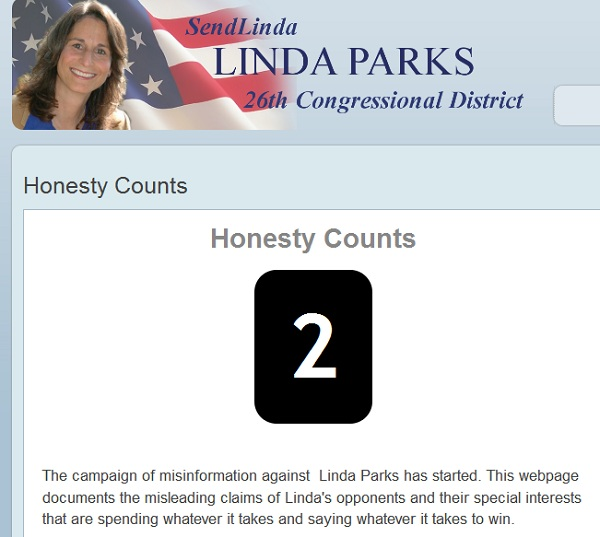 Linda Parks Honesty Counts CA 26: Linda Parks Fights Back Against Democratic Congressional Campaign Committee