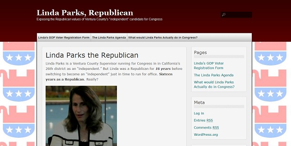 Linda Parks Republican CA 26: Is Linda Parks a Republican?
