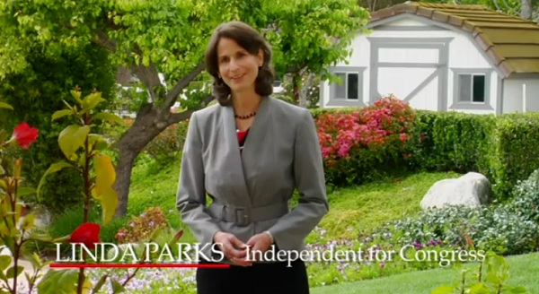 Linda Parks TV CA 26: Linda Parks Again Refuses to Say With Which Party She Will Caucus If Elected to Congress