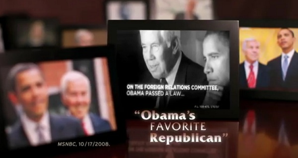 Lugar Obama Favorite IN Sen Video: Richard Mourdock Up With New Ad Linking Sen Lugar as President Obamas Favorite Republican