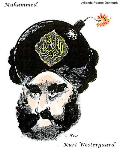 Mohammed Cartoon Bomb Danish Cartoonist Kurt Westergaard Attacked by Somali Linked to Radical Islamic al Shabab Militia