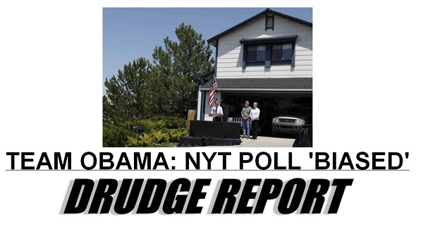 NYT Poll Biased The Morning Flap: May 15, 2012