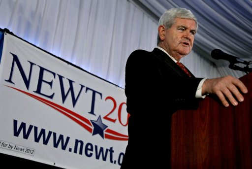 Newt Gingrich1 President 2012 GOP Poll Watch: Newt Gingrich Surges in 3 Key Battleground States as President Obama Struggles