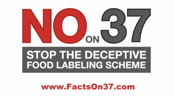 No on 37 radio ad Poll: California Proposition 37 Now a Loser