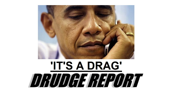 Obama Its a Drag The Morning Flap: October 2, 2012