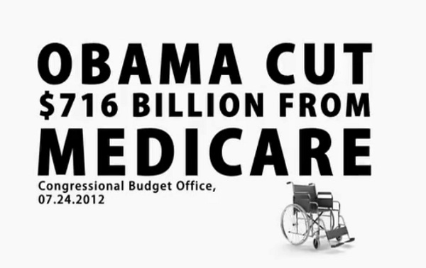 Obama Medicare Cuts Video: Romney Goes on the Attack to Save Medicare from ObamaCare