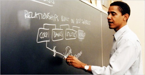 Obama Teaching Class The Morning Flap: April 4, 2012