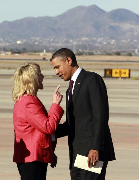 Obama and Brewer The Morning Flap: January 26, 2012