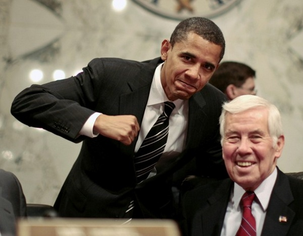 Obama and Lugar The Morning Flap: May 9, 2012