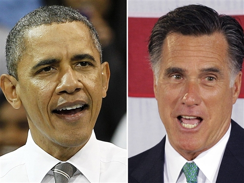 Obama and Romney2 The Morning Flap: June 27, 2012