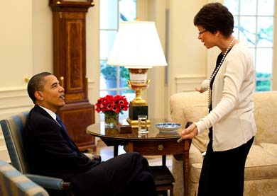 Obama and Valerie Jarrett Obama Canceled Bin Laden Raid Three Times at Urging of Valerie Jarrett