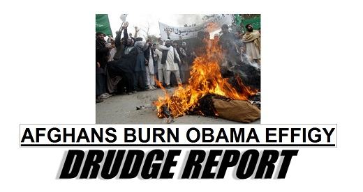 Obama burned in effigy The Morning Flap: March 13, 2012