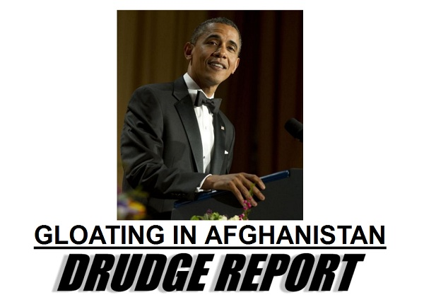 Obama gloats President 2012: Obama Spikes the Ball in Afghanistan
