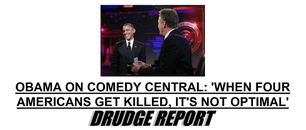 Obama on Comedy Central The Morning Flap: October 19, 2012