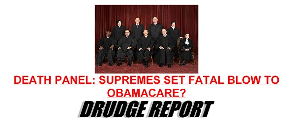 ObamaCare Decision by SCOTUS The Morning Flap: June 25, 2012