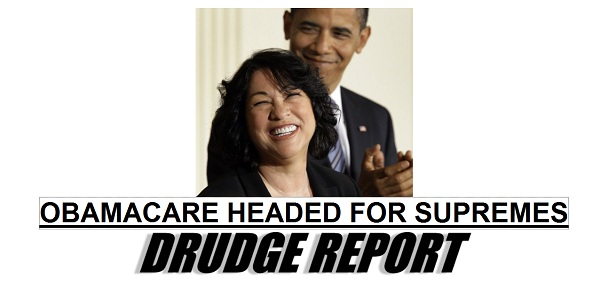ObamaCare President 2012: ObamaCare Headed to the U.S. Supreme Court