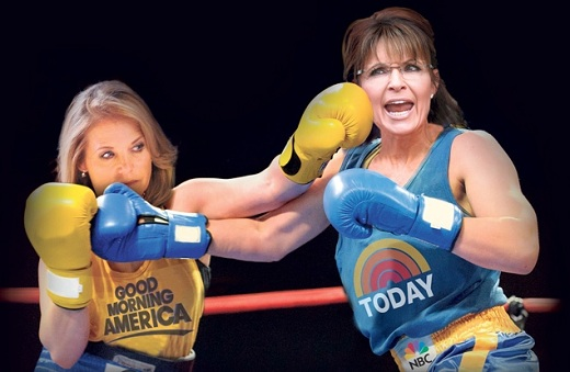 Palin and Couric The Morning Flap: April 2, 2012