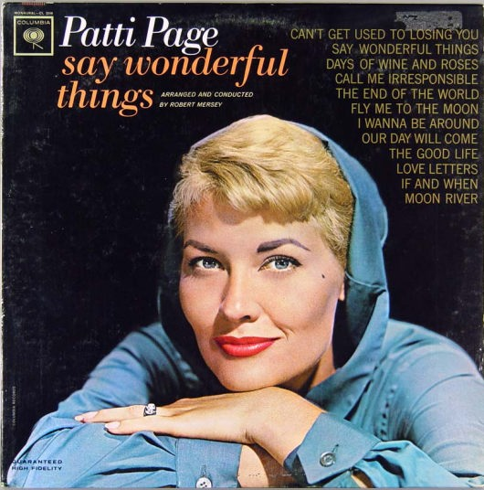 Patti Page Patti Page R.I.P.