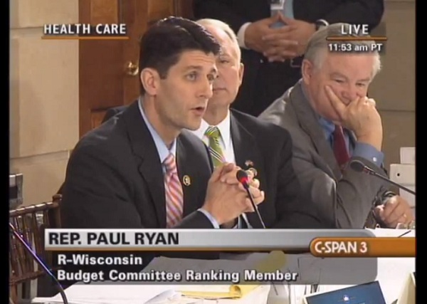 Paul Ryan on ObamaCare Flashback Video: Ryan, Obama, Medicare and ObamaCare