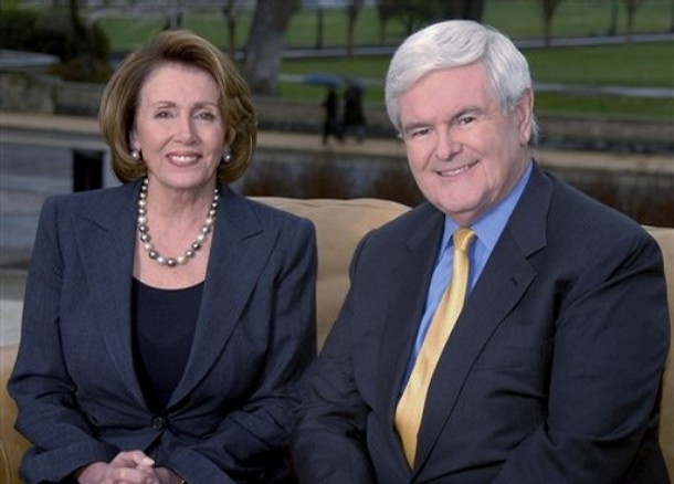 Pelosi and Gingrich President 2012: Pelosi Folds   No New Dirt on Gingrich
