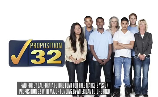 California Propisition 32 Ad