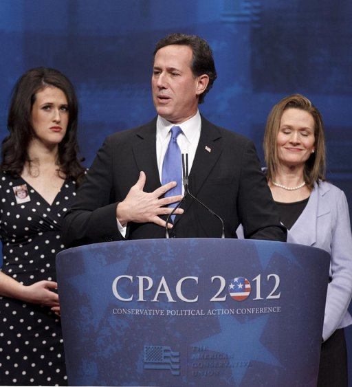 Rick Santorum at CPAC The Morning Flap: February 13, 2012